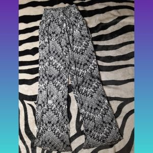 Mossimo Black & White Dress Pants
